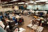 CNC Machining factory floor