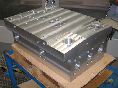 Large Hydraulic Manifold