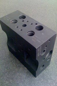 fast prototyping example Metal block