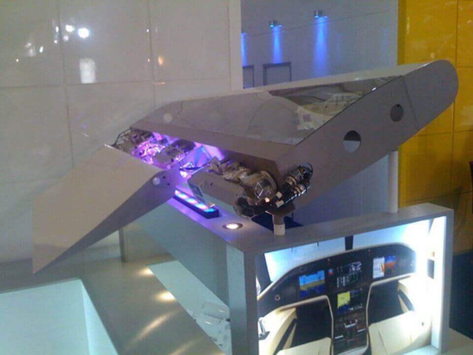 Aerospace Hydraulic Display