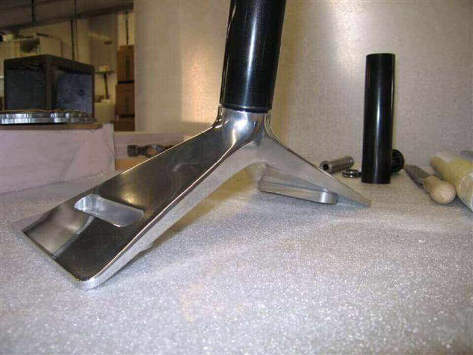 CNC Milled from Solid Aluminium