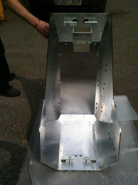 CNC Milling Aircraft Seat Tooling
