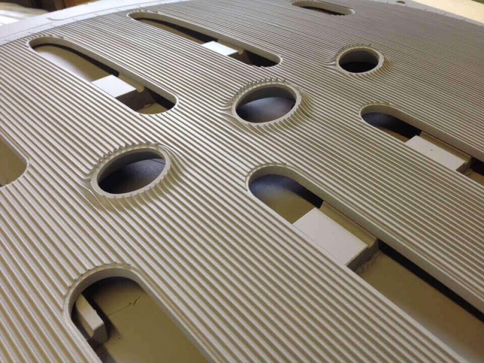 Complex Large Scale CNC Milled Shape
