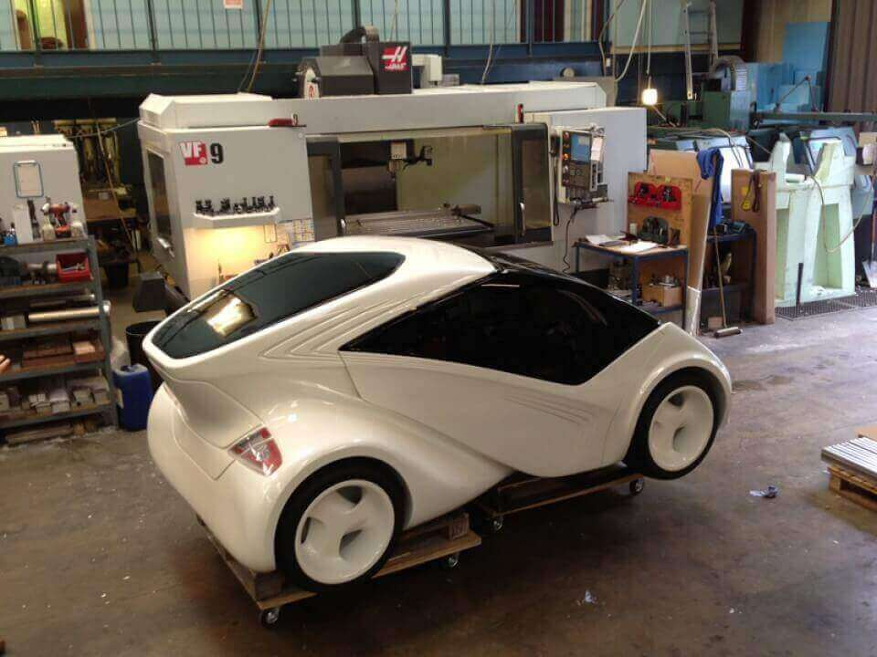 Concept Car Modelling using CNC Milling