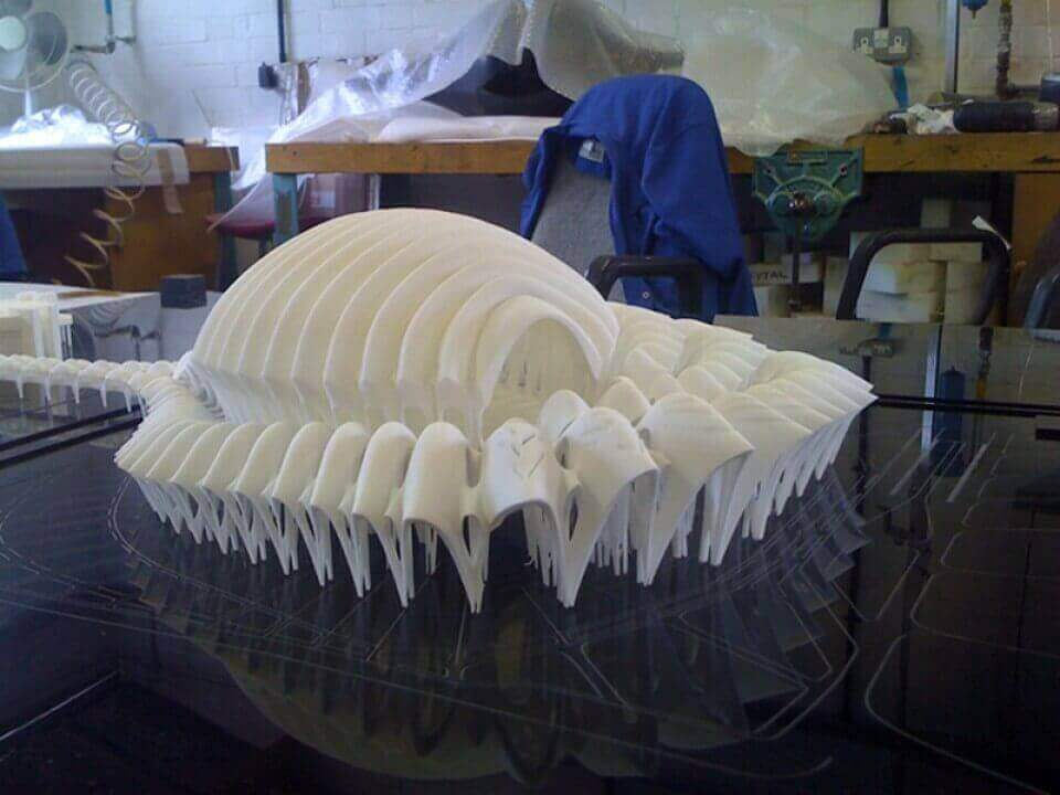 High Detail SLS Nylon prototype