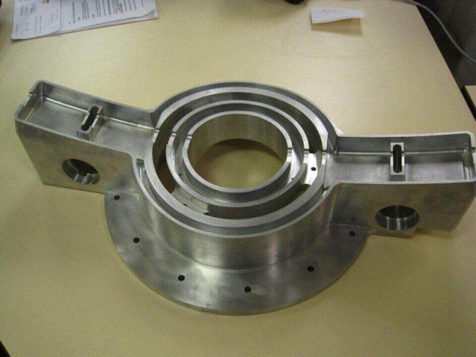 Large 3D Machining in Aluminium