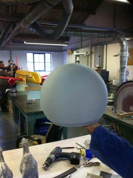 Large Rapid Prototype SLA Sphere