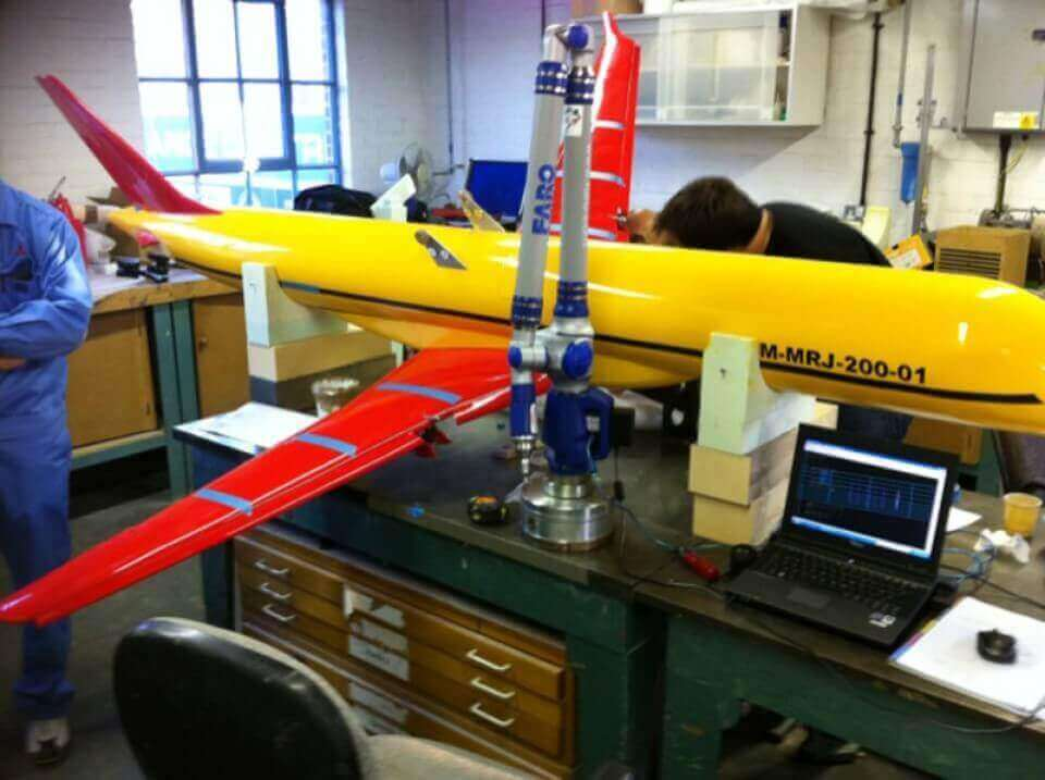 consulting on a precision jet ditching engineering project
