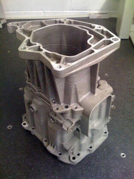 Landrover gear Box Prototype