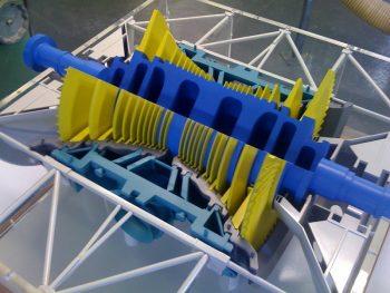 CNC Machined turbine