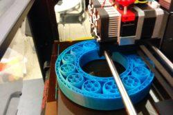 3D printing underway