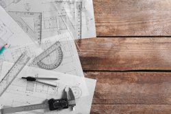 drawings, ruler