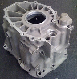 Land Rover Rapid Casting and CNC Machined Gearbox