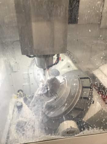 High Speed 5 Axis CNC Machining