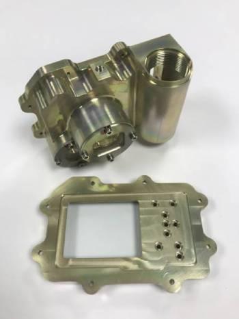 Instrument Housing 5 Axis CNC Machining - Aluminium