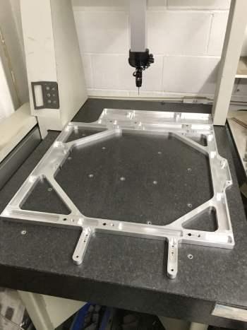 Precision Aluminium CNC Machining - Automated Machine Chassis