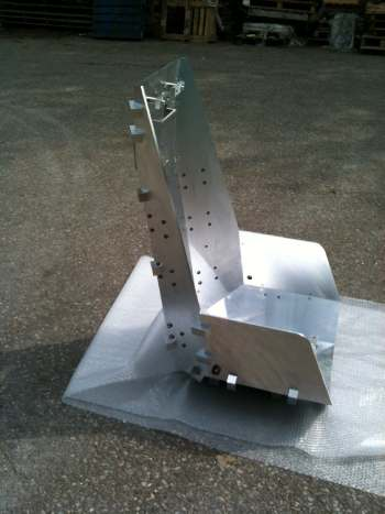 Precision Drill Jig For Helicoptor Armoured Crew Seat